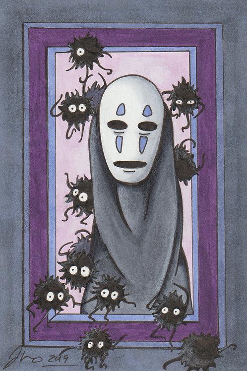 Studio Ghibli -No Face *Print*