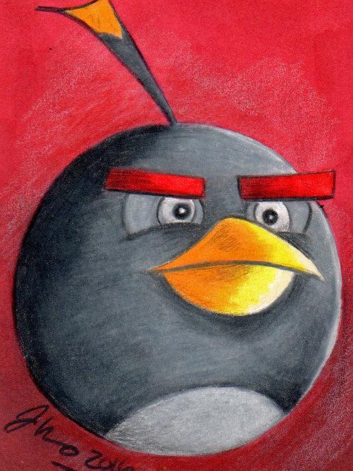 Mini - Angry Birds Babomb *Print*