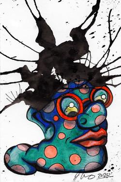 Inkblot Monster (The Smalls) #11