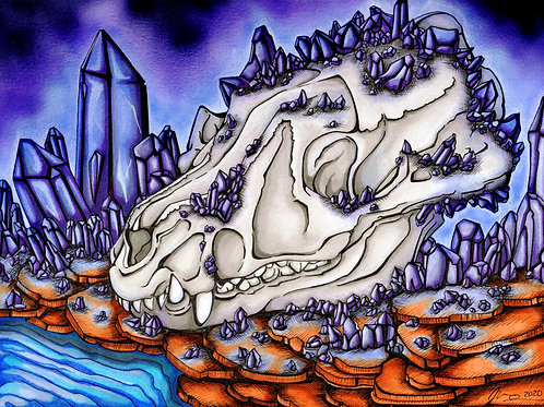 Canine Skull *Print*