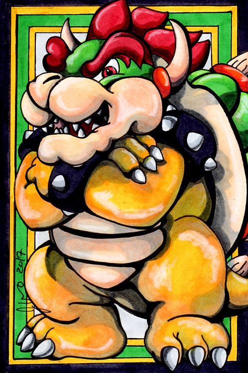 Mario Bros - Bowser *Print*