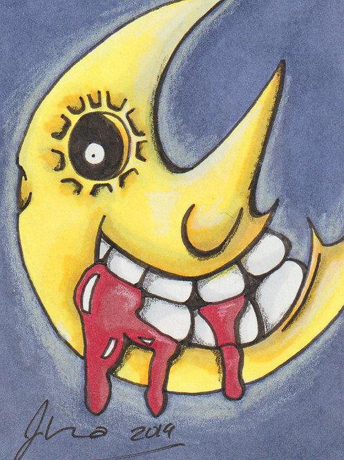 Mini - Soul Eater Moon *Print*