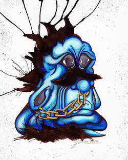 Inkblot Monster (The Larges) #7