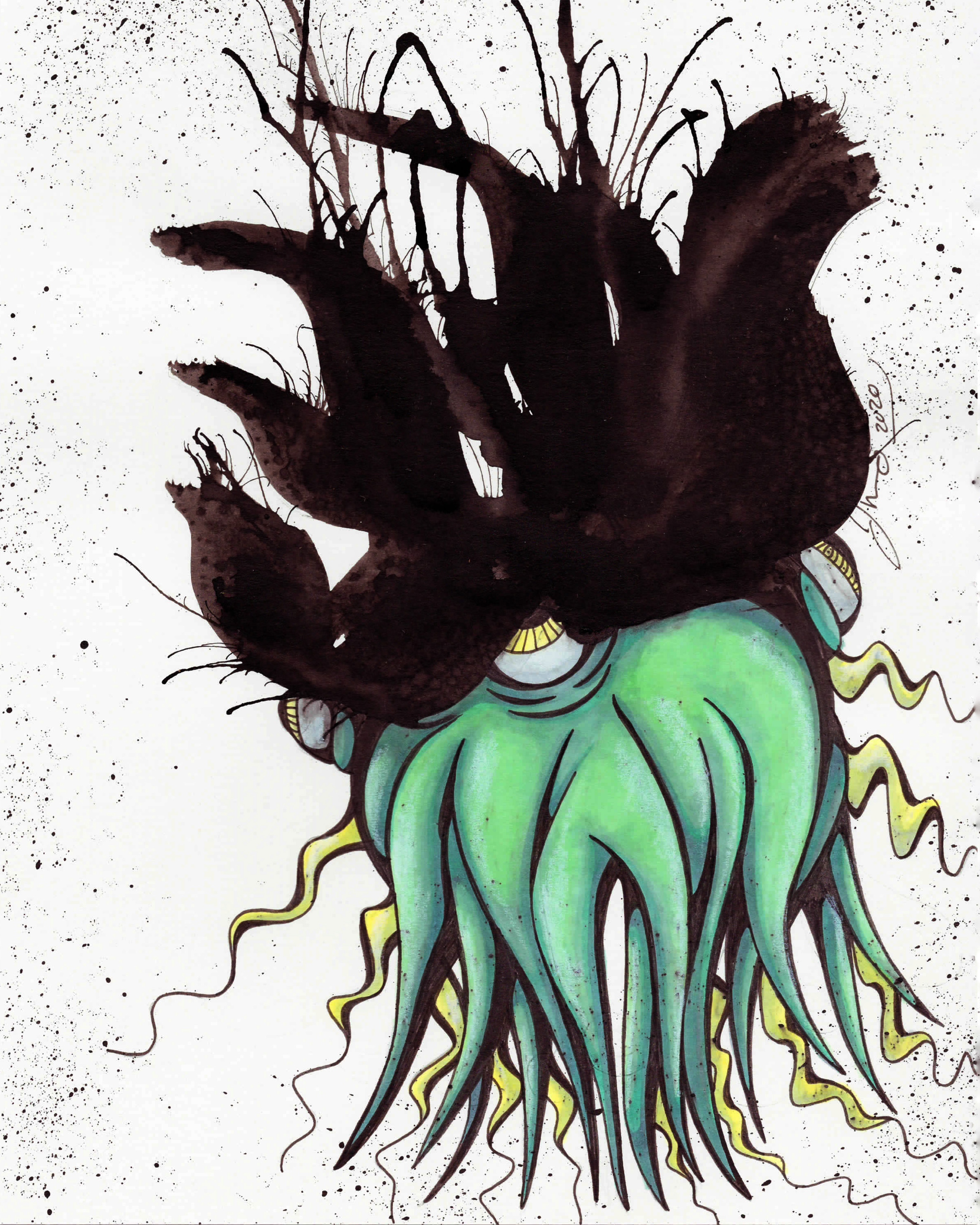 Inkblot Monster (The Larges) #12