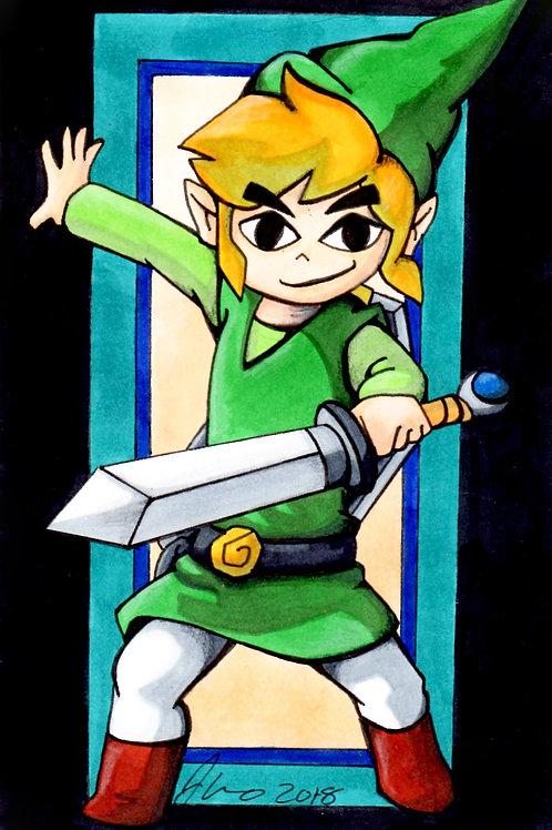 Legend of Zelda - Link *Print*