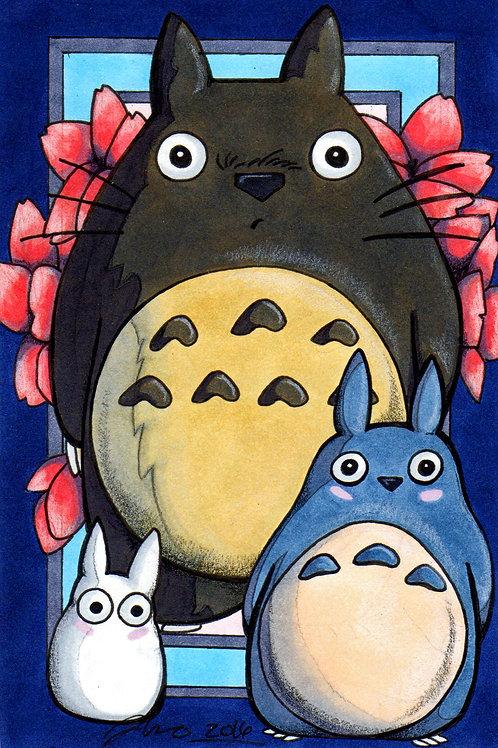 Studio Ghibli - Totorro *Print*