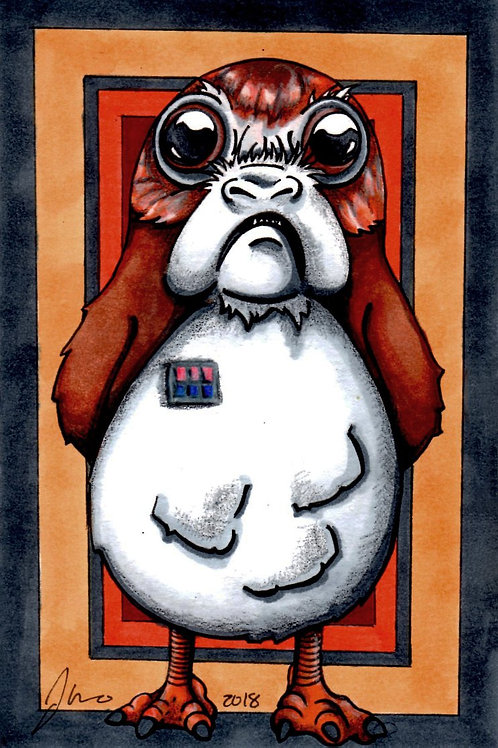Star Wars - Commander Porg *Print*