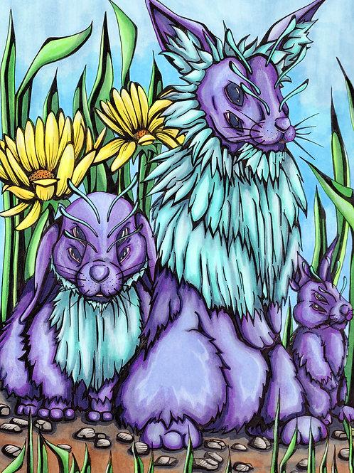 Alien Rabbits *Print*