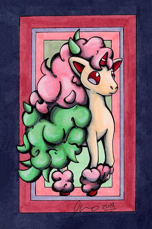 Pokemon - Ponyta Galerian *Print*