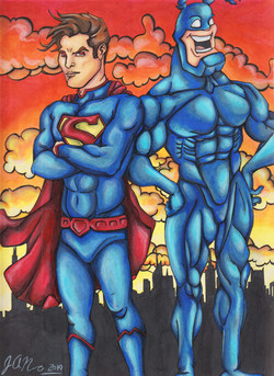 Superman and The Tick
