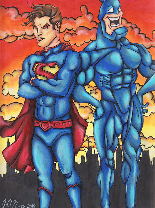 Superman and The Tick *Print*
