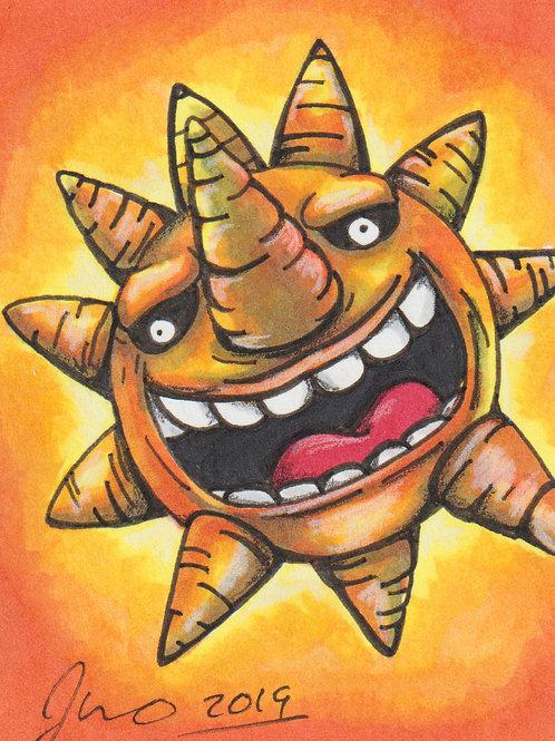Mini - Soul Eater Sun *Print*