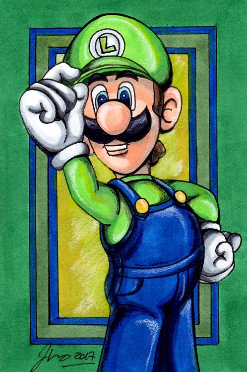 Mario Bros - Luigi *Print*
