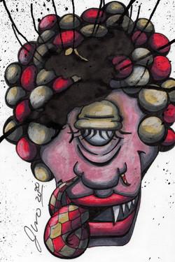 Inkblot Monster (The Smalls) #4
