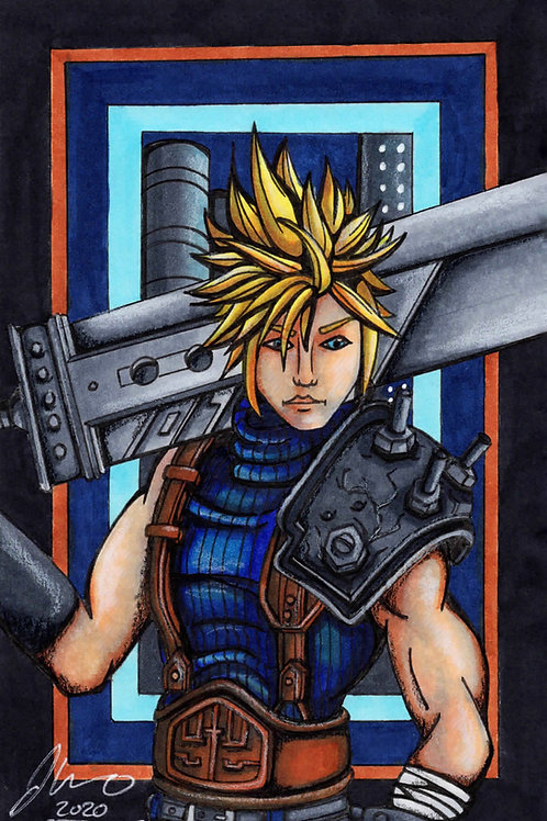 Final Fantasy 7 - Cloud *Print*
