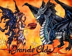 Grande Olde Bakery Shoppe Illustrated Lo