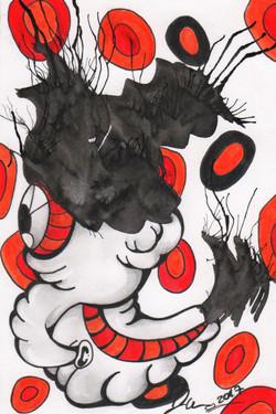 Ink Blot Monster #15