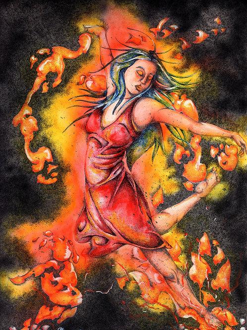Dance of the Fire Spirit *Print*