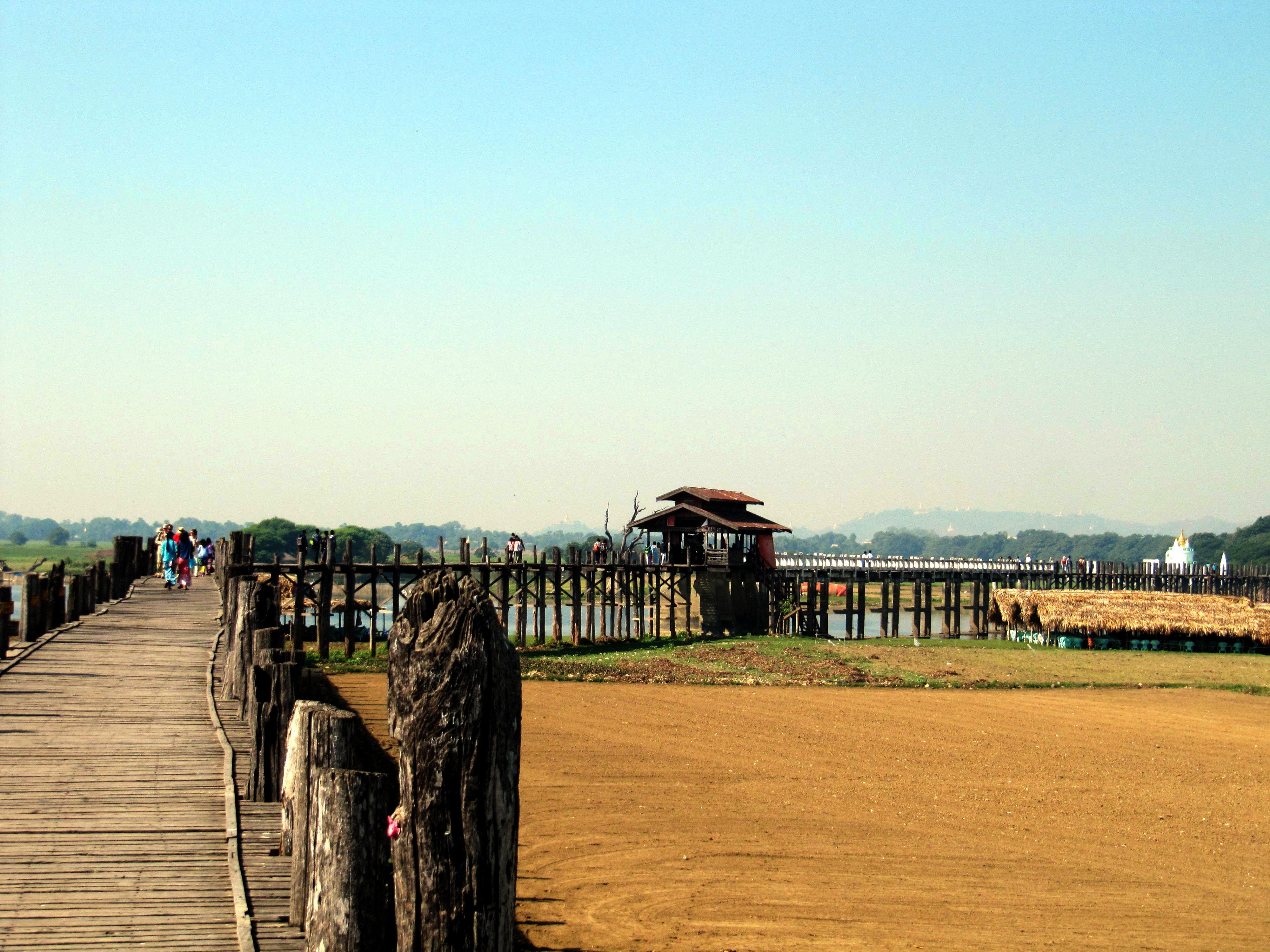 PUENTE U BEIN - AMARAPURA - MYANMAR