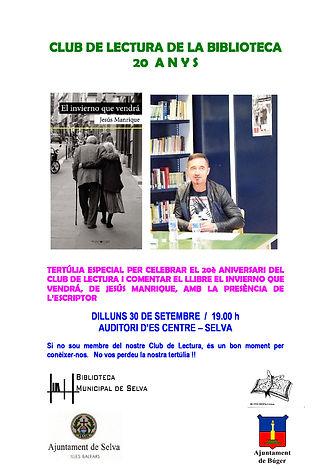 CARTELL 20 ANYS CL RED BIBLIOTECAS DE SE