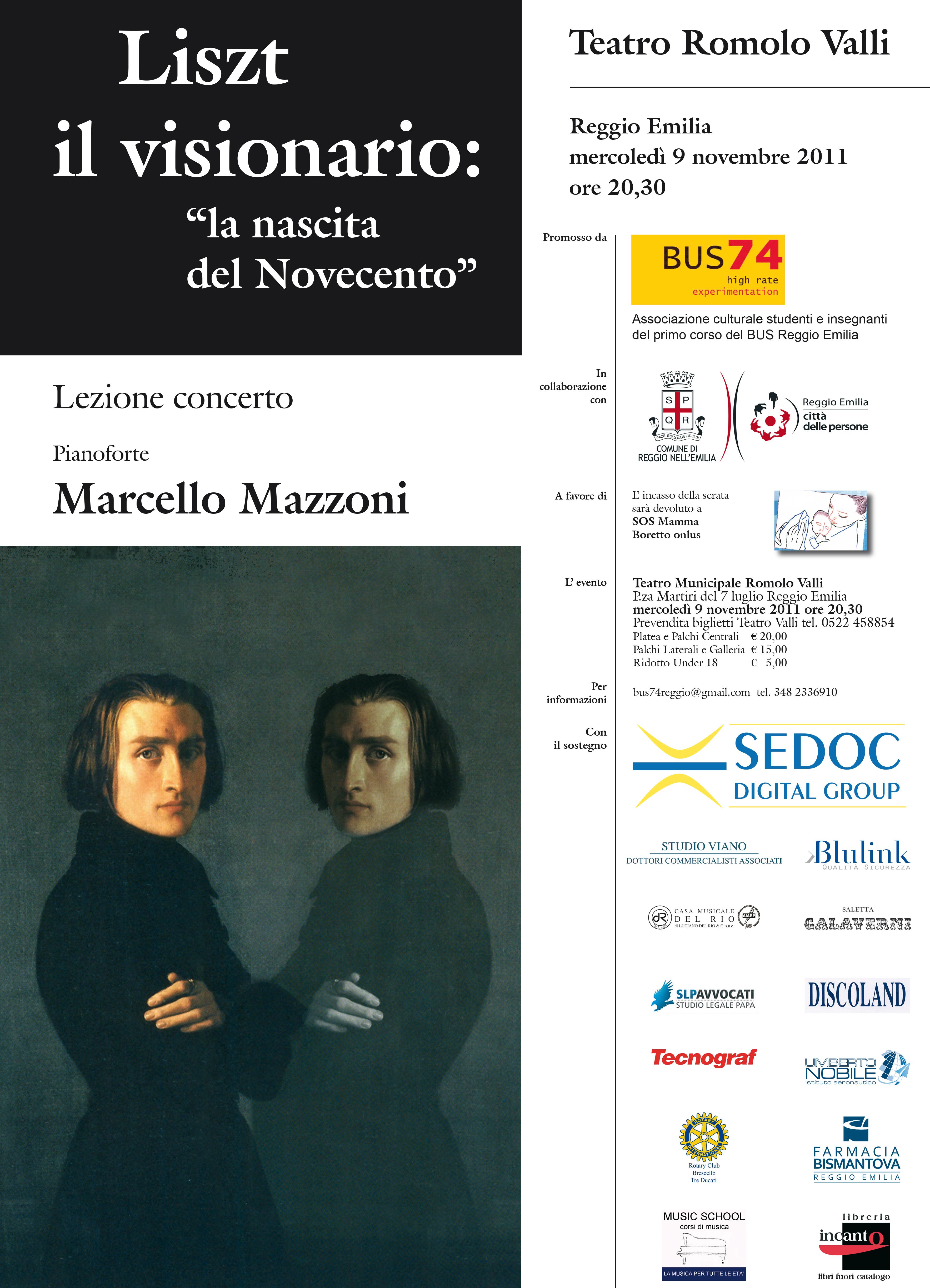 Liszt - Marcello Mazzoni