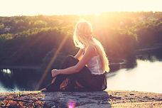Girl ponderin life