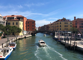 Strolling through Venice during COVID-19