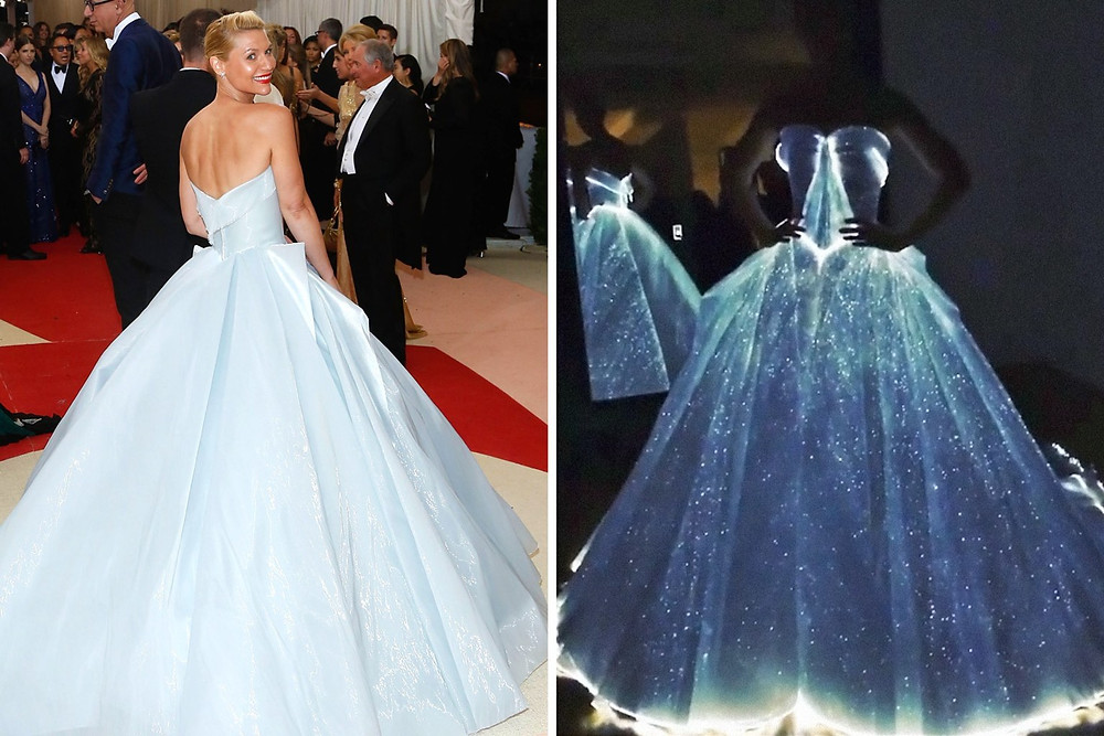 Claire Danes was the brightest star the night of the Met Gala.