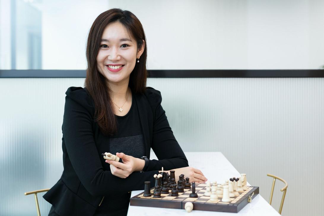 Portrait Amy Jiang