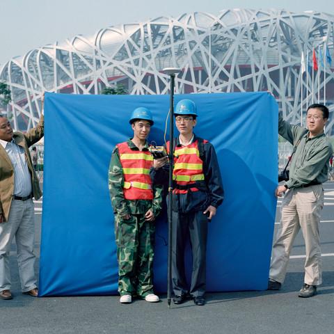 Beijing Blue - A portrait of the people shaping Beijing (2008/2009)