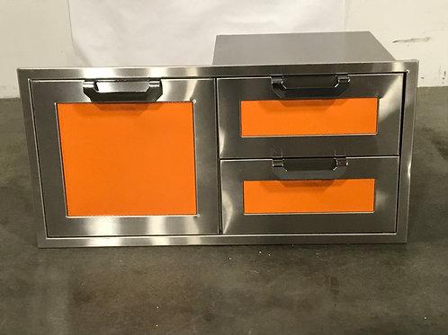 """Hestan 42"""" Double Drawer Storage Door"""