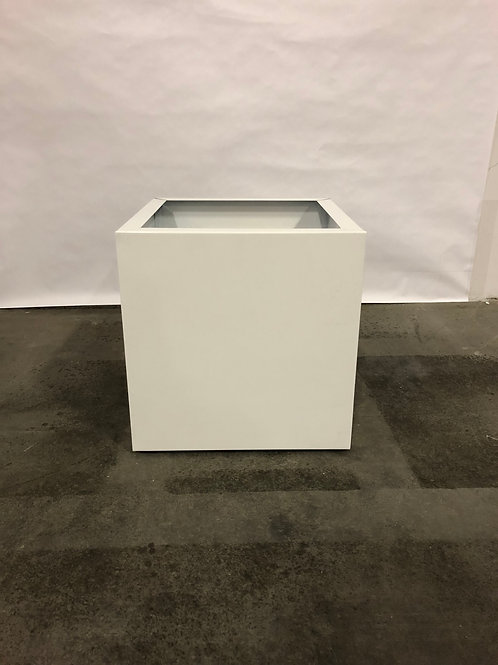 """Vent-A-Hood 12"""" X 12"""" RAL White Island Duct Cover"""