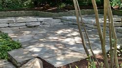 Stone Deck & Retaining Wall