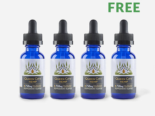 CBD 750mg Bundle Pack