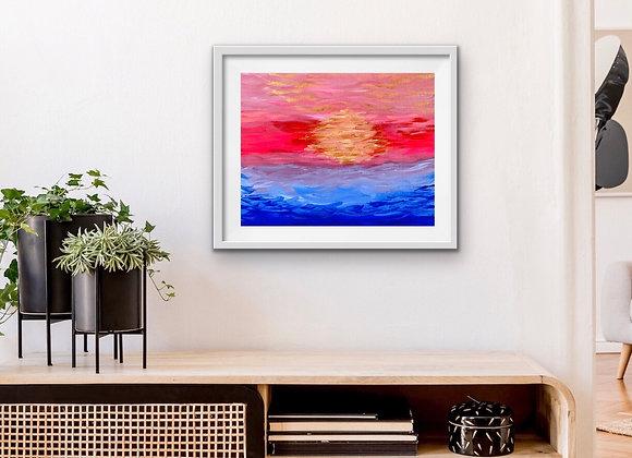 Fuchsia Sunrise