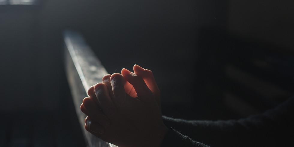 Pray. Fast. Worship.