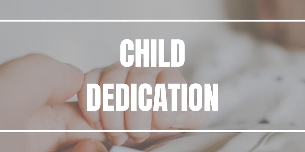 Child Dedication - All Campus