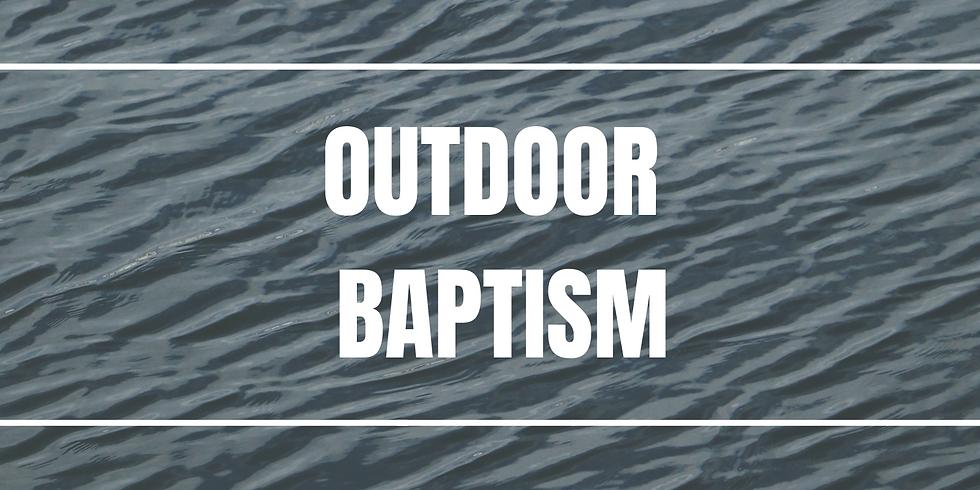Outdoor Baptism