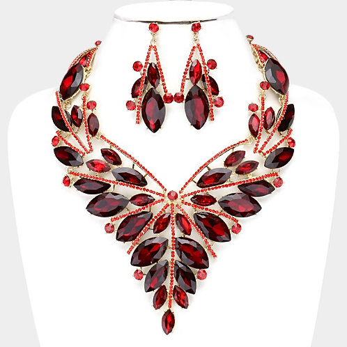Vine Necklace and Earring Set