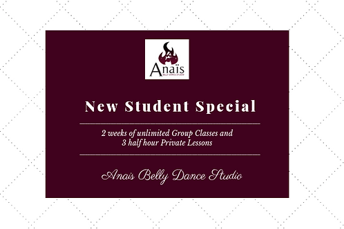 New Student Special