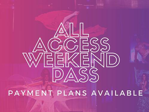All Access Weekend Pass