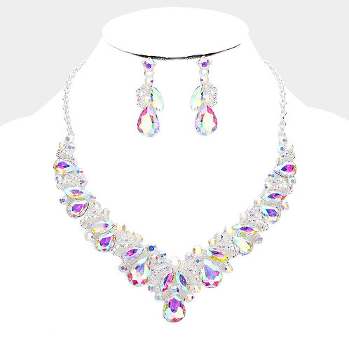 Elegant Necklace and Earring Set