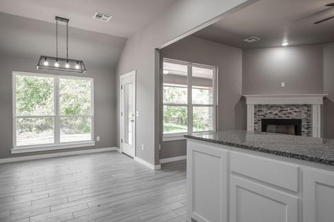 Dining room from kitchen view