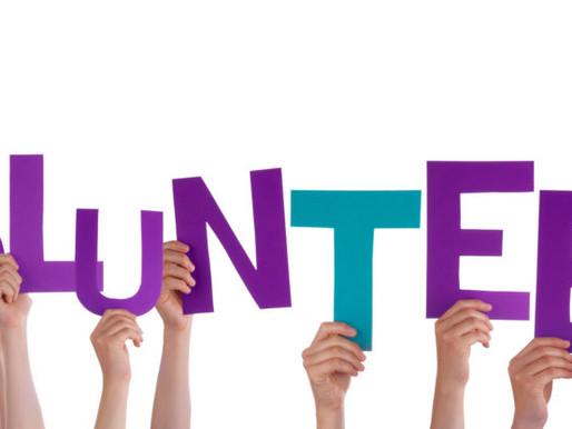 Being a volunteer!