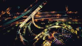 Busy freeways