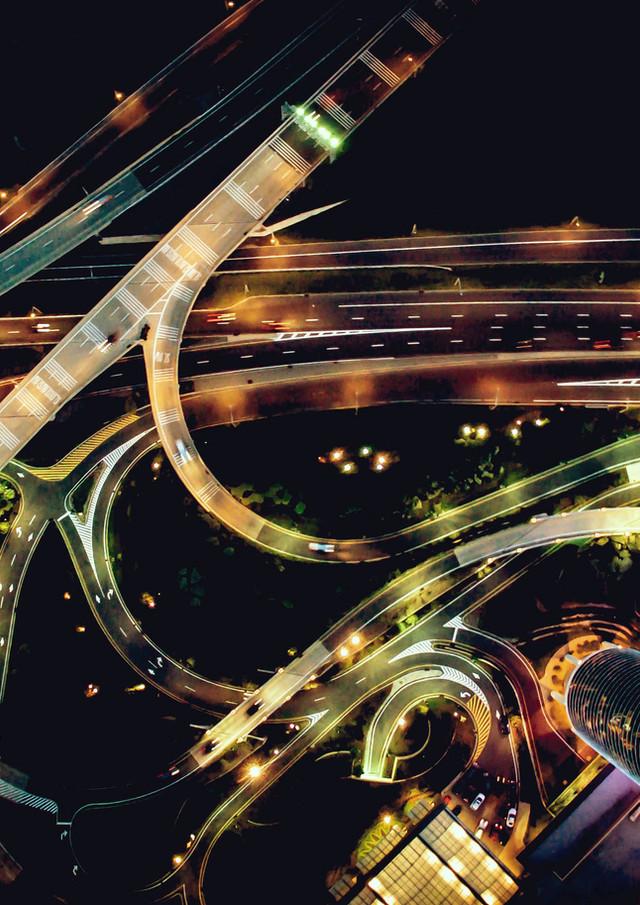 Urban Majestic Roadways