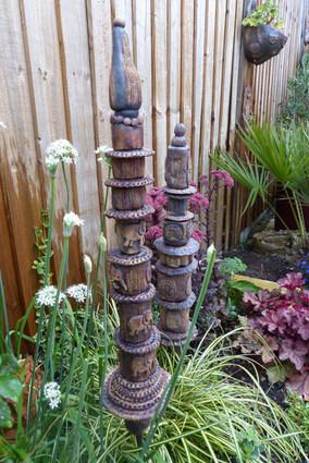 Medium garden totems £120 each
