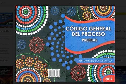 Libro código general del proceso-hernan Fabio López blanco