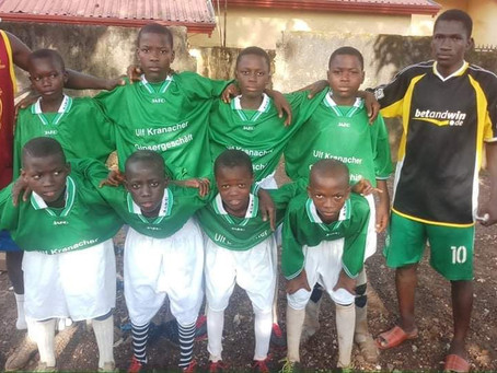 Spenden nun auch in Guinea angekommen