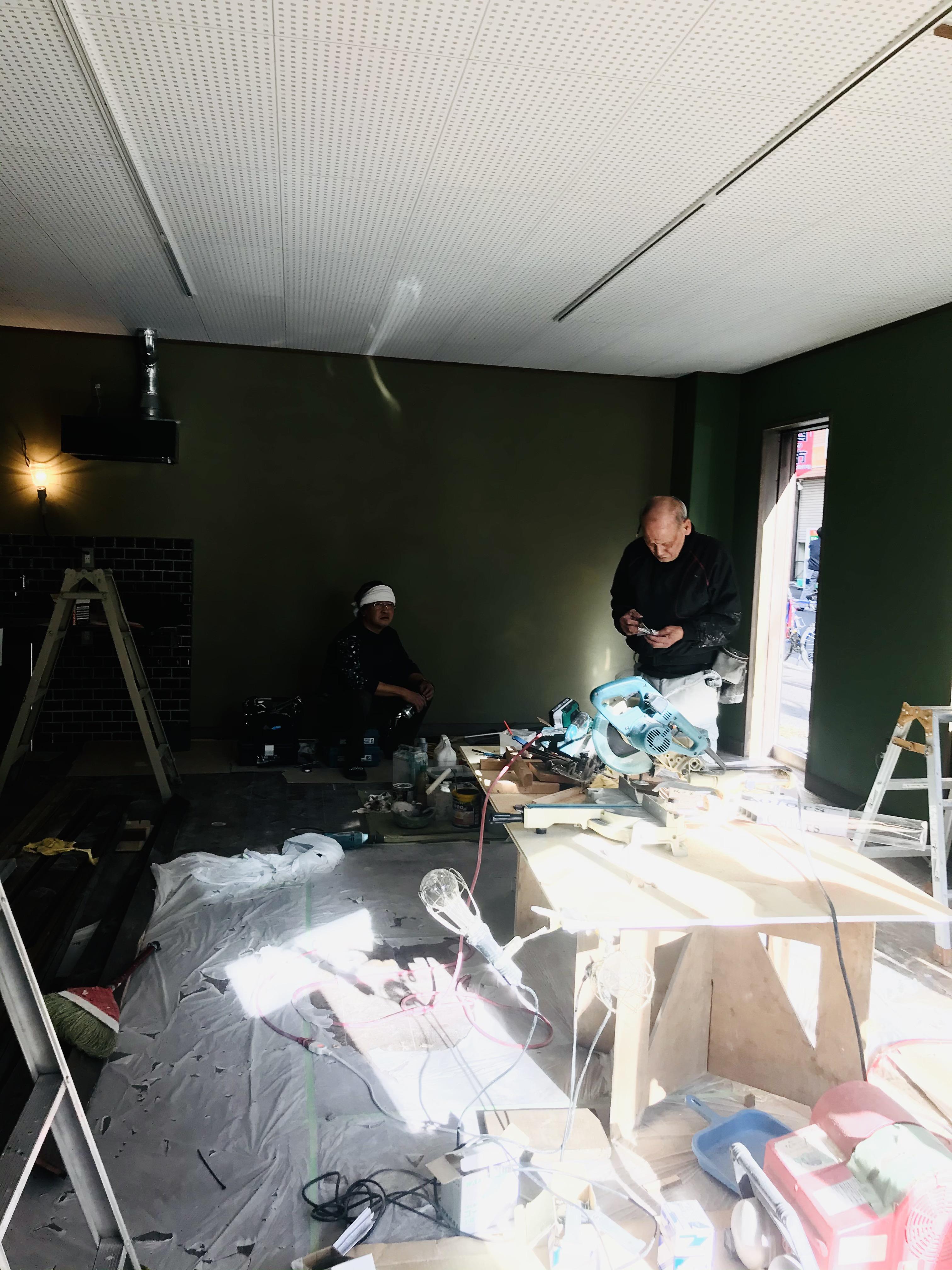 巣鴨店舗工事